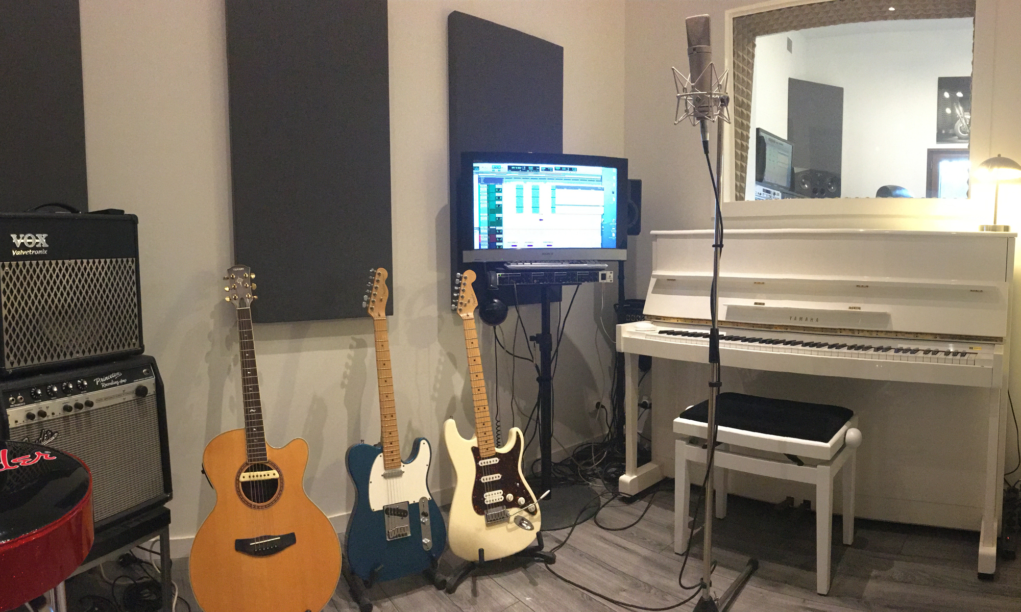 Studio d'enregistrement